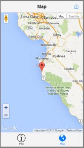 Kendo UI Mobile Geolocation